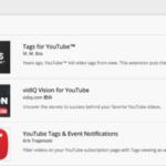 自分以外の他人のYouTube動画のタグを簡単に確認できる拡張機能「Tags for YouTube」
