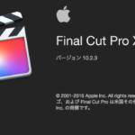 Final Cut Pro X モザイクをかける、モザイクを追従する方法